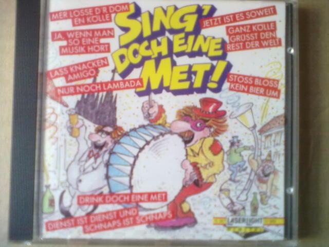 SING´ DOCH EINE MET! (1990) - KARNEVAL CD - GANZ KÖLLE GRÜSST DEN REST DER WELT