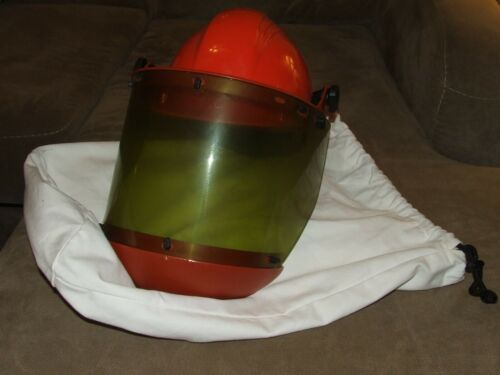 Honeywell Salisbury Electric Arc Flash Face Shield Model AS1000 North Hard Hat