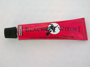 BLACK-WITCH-scuba-diving-DRY-WET-SUIT-neoprene-repair-glue-ADHESIVE-seals-DIVE