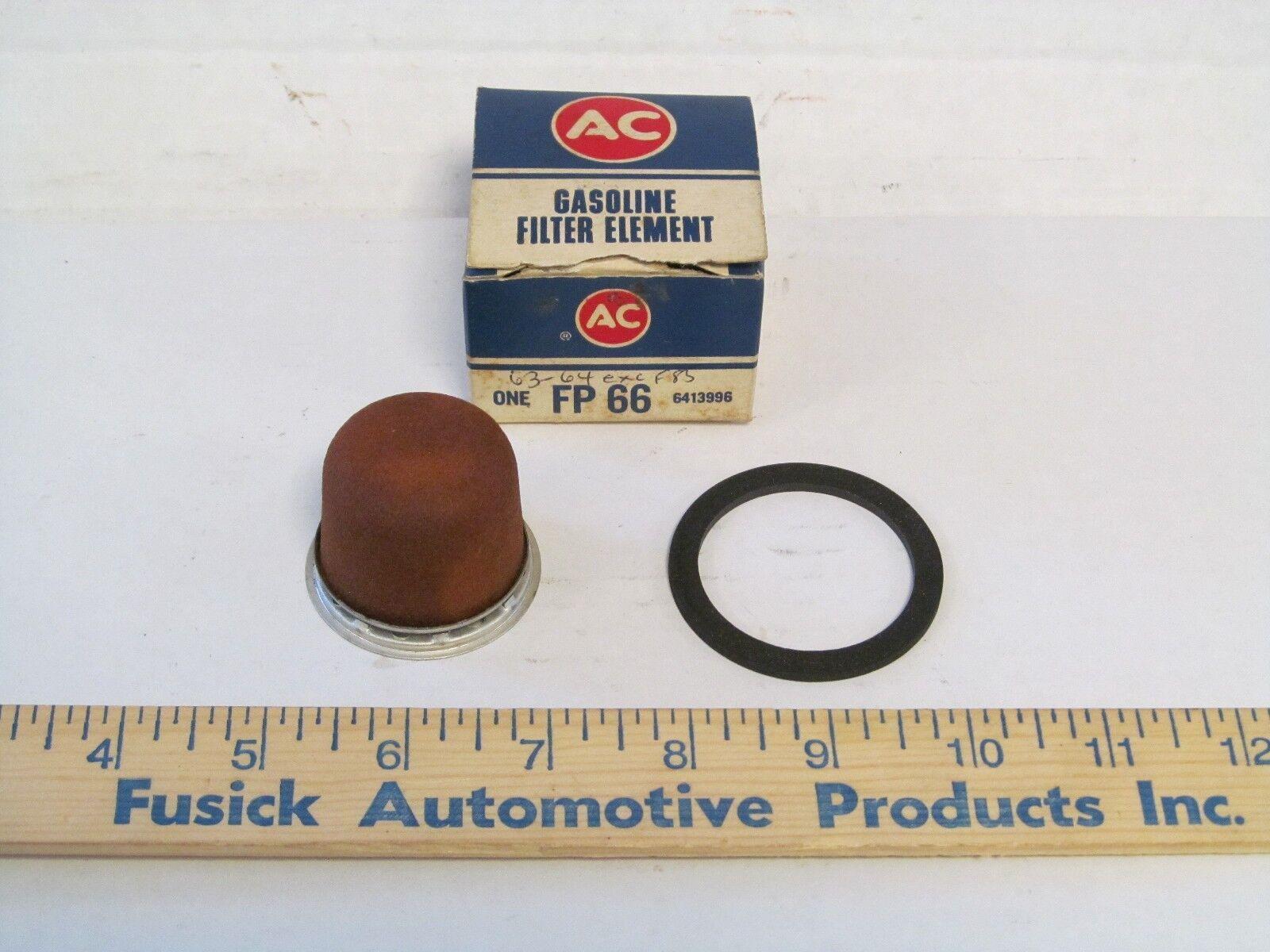 1963-1964 Oldsmobile 88 98 NOS GM AC Delco FP 66 Fuel Pump Filter FP-66 6413996