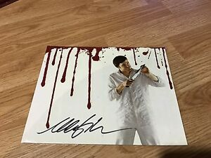 Michael C Hall Autographed Dexter 8x10 photo