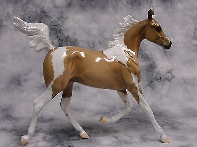 Peter Stone * Wrangler * Glossy Pinto Arabian Yearling Traditional Model Horse