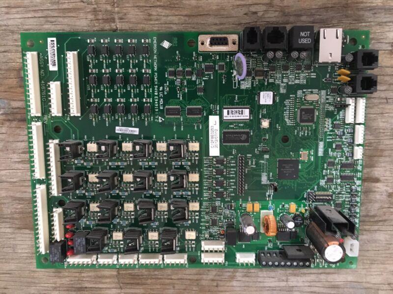 Liebert Emerson Power Network Control Board 416761G1 Rev. 34 Used