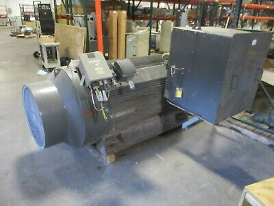Teco-westinghouse Ac Motor Aejh-wt002 1000hp 1200rpm Fr 500cb 4000v 127a Used