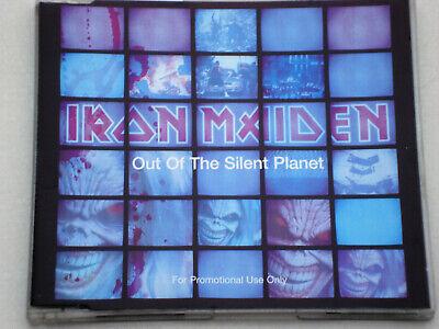 IRON MAIDEN – OUT OF THE SILENT PLANET – CD SINGLE 3 track PROMO -neuwertig comprar usado  Enviando para Brazil