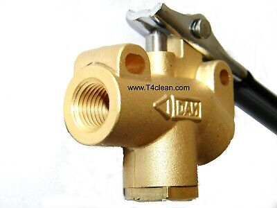 """Carpet Cleaning 1//4/"""" DAM Brass Angle Valve 1250 PSI for Truckmount//Portable Wand"""