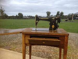 Antique Treadle Singer Sewing Machine Inverleigh Golden Plains Preview