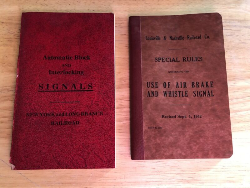 2 Vintage Railroad Publications-Signals