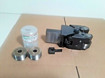 Nice Fette T220 Thread Roller Head Wt220-31-113-00-s 2 Used Sets Of Rollers