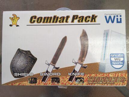 Nintendo Wii combat pack