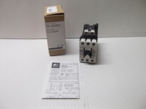 FUJI ELECTRIC SC-E03/G MAGNETIC CONTACTOR COIL DC24V SE12AG-E