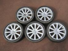 VW  Touareg  R50   21 inch alloy rims with tyres. Cloverdale Belmont Area Preview