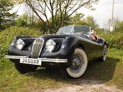 "Jaguar XK 120 Roadster, this is a real ""black beauty""!"