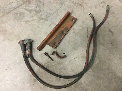 Farmall M Super M Hydraulic Lines Coupler And Cover