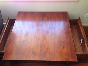 Solid wooden coffee table Caringbah Sutherland Area Preview