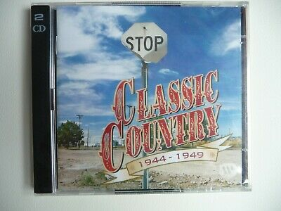 Time Life Classic Country 1944 - 1949  2-CD's  New Sealed Neu
