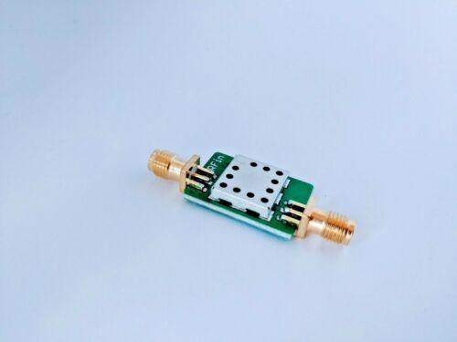 1525 to 1559 MHz Bandpass Filter; 1542 MHz filter; L-Band INMARSAT Filter