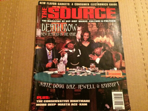 Source Magazine - May 1995 - No. 68 - Death Row - Nate Dogg