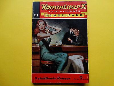 Kommissar X Sammelband Nr. 1 /Österreich *enthält Nr. 21, 23, 24* Z2+ *gebraucht