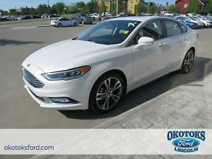 2017 Ford Fusion Titanium Clean Carproof, 2.0l GTDI Engine, AWD