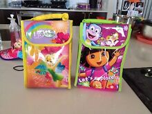 Tinkerbell and Dora insulated lunch bags Ashby Wanneroo Area Preview