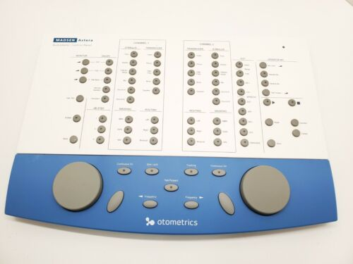 Madsen Astera 2 Otometrics Audiometer Control Panel 1066-ACP