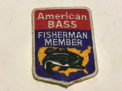 VINTAGE FISH FORMULA BASS FISHING PATCH//EMBLEM