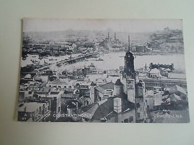 A VIEW OF CONSTANTINOPLE Photo-L.N.A. No 104   Vintage Postcard  §A2148