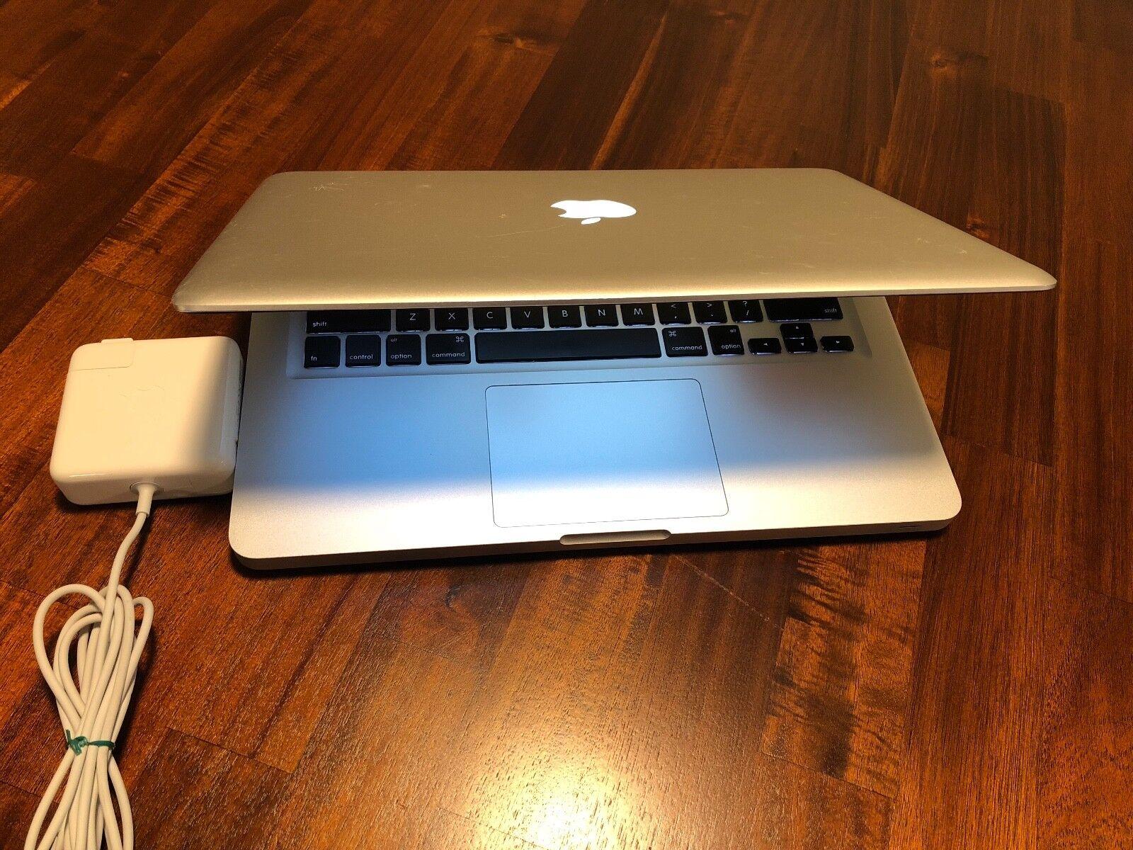 """Apple MacBook Silver 13"""" 500GB HDD 2.3GHz i5 / 4GB OS X High Sierra 2017. Office"""
