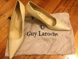 Guy laroche cream heels Glen Waverley Monash Area Preview