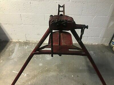 Reed Ct4 Portable Tripod Pipe Chain Vise