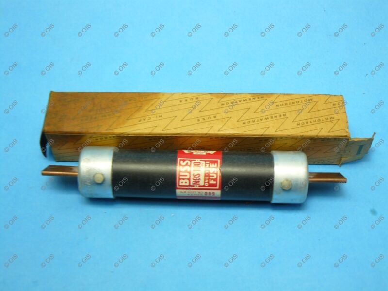 Bussmann NOS100 One-time Fuse Class K5&H 100 Amps 600 VAC New
