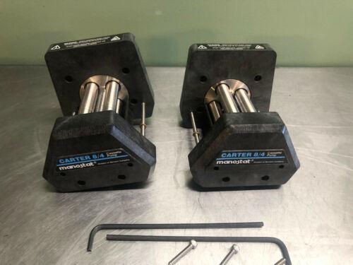 Lot of 2 Manostat Carter 8/4 Cassette Pump Heads