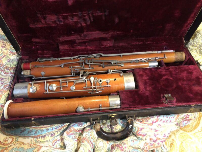 Selmer 132 Bassoon Intermediate w Case Recently Serviced