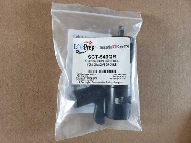 Cable Prep SCT-540QR Strip/Core/Jacket Strip Tool for Commscope QR Cable