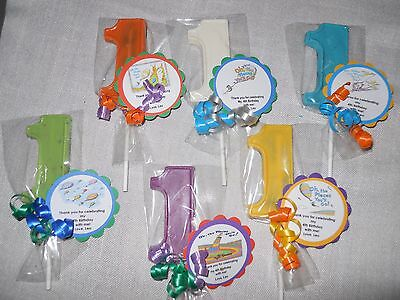 12 Oh the Places We Will Go Dr Seuss 1st Birthday Party Favors with custom tags (Dr Seuss Party Supplies 1st Birthday)
