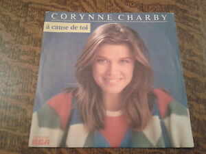 45 tours corynne charby a cause de toi ebay. Black Bedroom Furniture Sets. Home Design Ideas