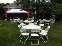 Affordable Party Rentals! Chairs,Tables,Chafing Dishes!!!