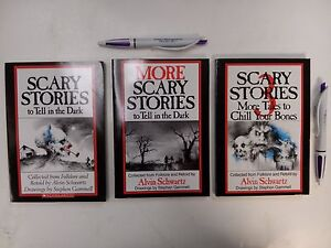 Scary Stories To Tell In The Dark SET Book 1 2 3