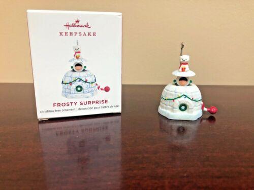 2019 Hallmark Miniature Ornament Frosty Surprise