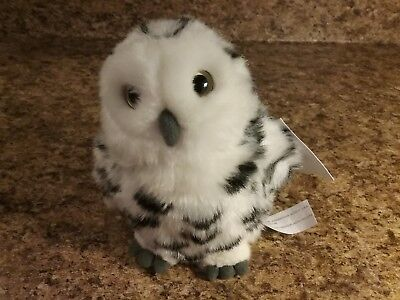 Books A Million 6 1 2 Inch Snowy Owl Plush Toy New With Tag