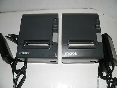Micros Epson M244a Tm-t88v Thermal Pos Receipt Printer Idn Printer Refurbished