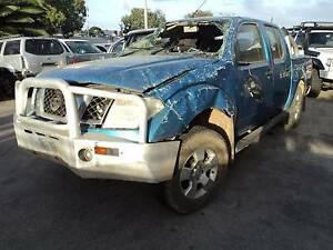 WRECKING Nissan Navara D40 YD25 DIESEL V:5977 ALL PARTS Wingfield Port Adelaide Area Preview