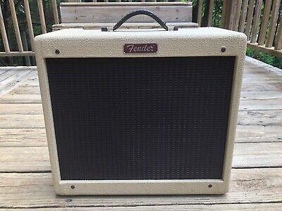 Excellent Fender Blues Junior Blonde Limited Edition 15w Amplifier -Blues Jr amp