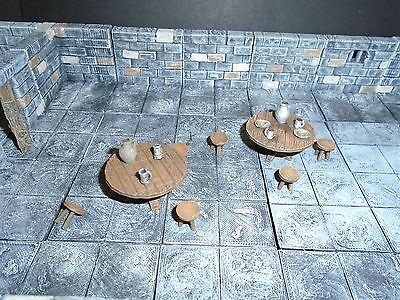 28mm Tavern Tables V2 (Compatible with Frostgrave, Dungeon & Dragons)