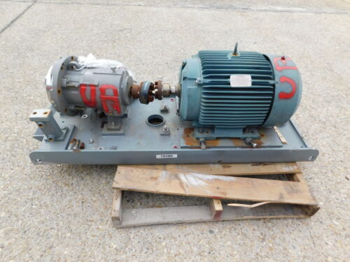 Flowserve Durco Mag Drive Centrifugal Pump LH2X1-10A Hastelloy C-276 SS 40 HP