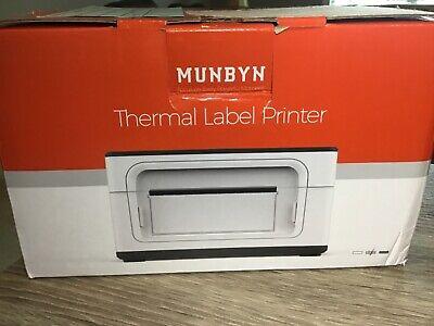 Munbyn Direct Thermal Label Printer Itpp941 4 X 6 W Labels Grey