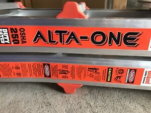 Brand new in box little giant 17 foot ladder