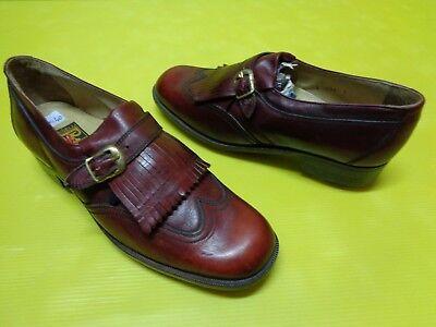 Damen Golfschuhe von TASSELLI  Gr.40 Nr01 Vintage 100% chaussures de golf