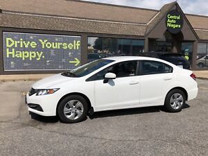 2014 Honda Civic Sedan LX / BLUETOOTH / HEATED SEATS / USB CONNE